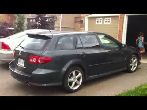 2005 Mazda6 V6 Station Wagon Startup Engine & In Depth Tour