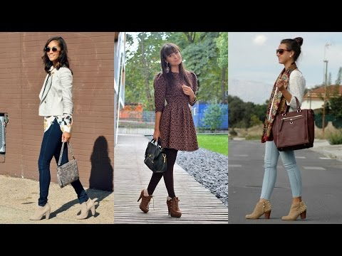 17 Street Style Outfit Ideas with Ankle Boots