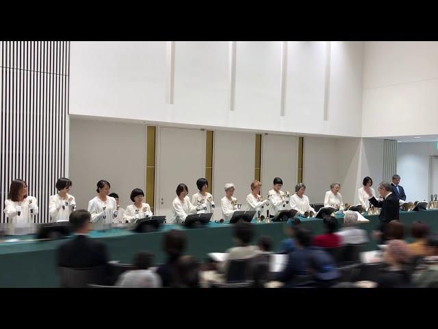 """ハンドベル Handbell, """"Christmas Reflections"""", Kobe YMCA Bell-choir, 2019 Dec"""