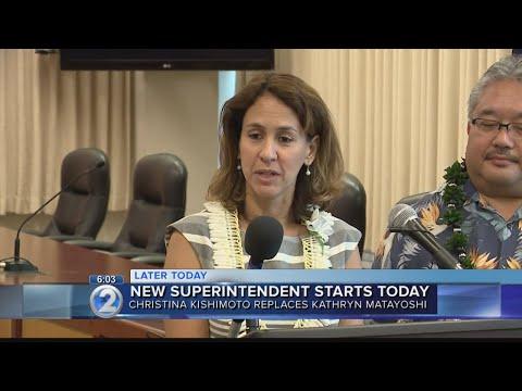 Kishimoto assumes leadership of Hawaii Dept. Education as new school year approaches