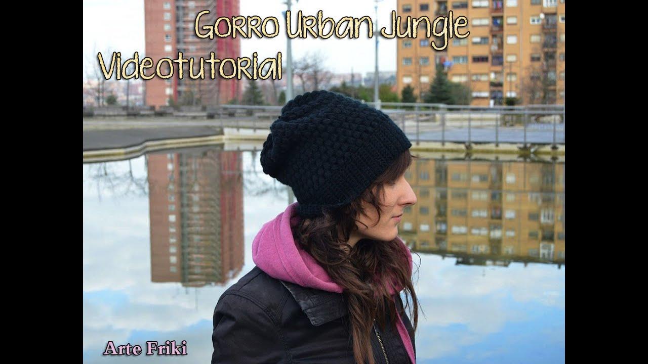 Gorro Urban Jungle [TUTORIAL] - YouTube
