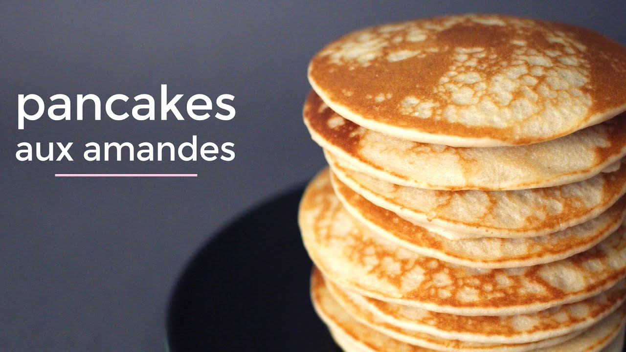 pancakes aux amandes recette vegan et sans gluten delicaroom fr youtube. Black Bedroom Furniture Sets. Home Design Ideas