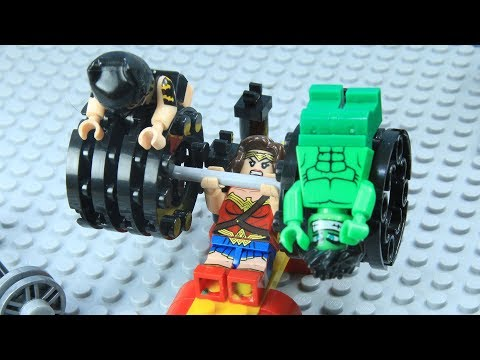 Lego Batman Gym Fail: Love Trap