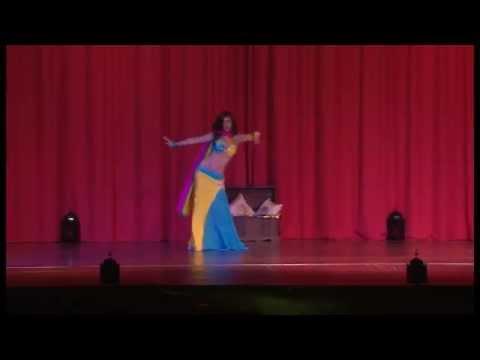 Danse orientale-Immortel désir (Solo Cléa 2014)