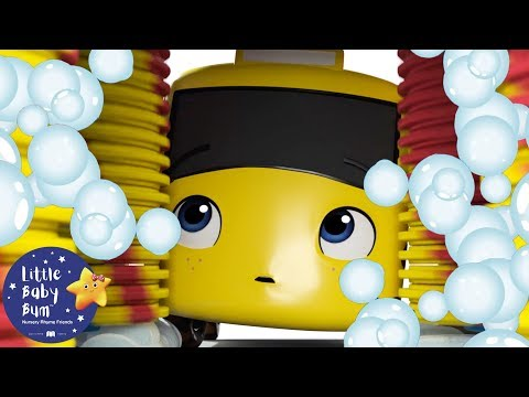 Go Buster | Buster And Carwash | BRAND NEW! | Baby Songs | Kids Cartoon | Little Baby Bum