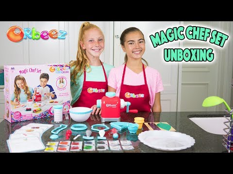 Orbeez Super Fine Crush Magic Chef Set UNBOXING | Official Orbeez