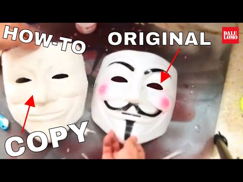 How to Copy A Mask With Paper Mache