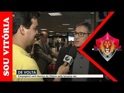 Confira a entrevista com Carpegiani e Ricardo David