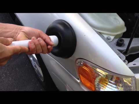 การซ่อมรอยบุบรถด้วยตนเอง