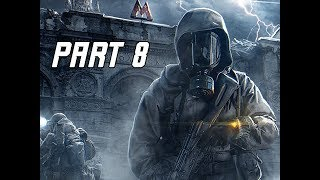 METRO EXODUS Walkthrough Gameplay Part 8 - Ministry of Defence (Let's Play Commentary)