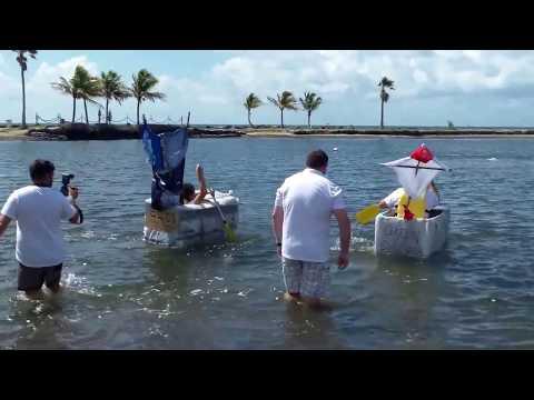 Castle Harbor's Build A Boat Corporate Team Building Event