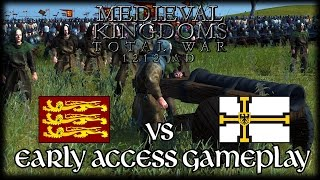 MEDIEVAL CANNONS! Total War Attila MEDIEVAL MOD Early Access Gameplay!