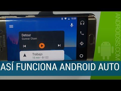 Así funciona Android Auto, ahora compatible con todos los vehículos