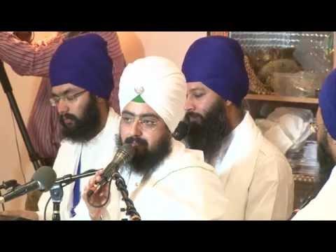 Sant Ranjit Singh Ji Dhadrian Wale Live @ Carteret NJ. Record By Amrik Singh July 31st 2014..