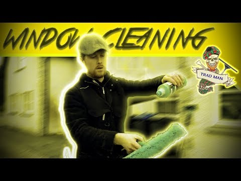 Residential Window Cleaning Water Fed & Traditional Techniques | Trad-Man