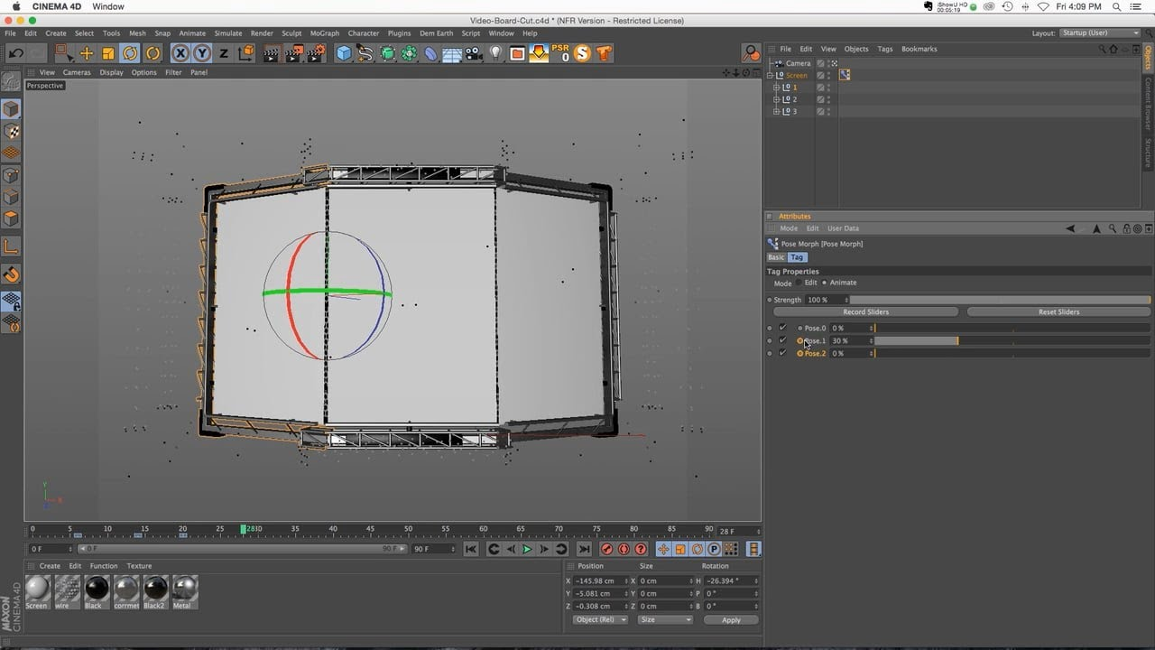 C4D Tutorial: Pose Morph Tag for Easy Animations YouTube