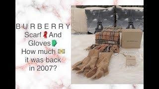 #99: BURBERRY SCARF