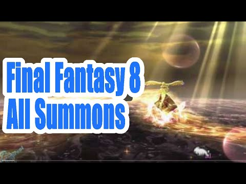 Final Fantasy 8 VIII All Summons
