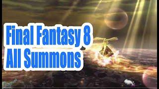 Final Fantasy 8 VIII All Summons