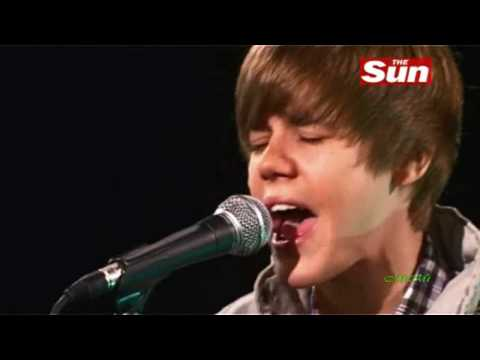 Justin Bieber - Usher's You Got It Bad (acoustic)