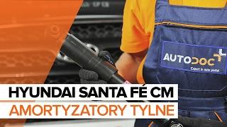 Instrukcja napraw HYUNDAI SANTA FÉ IV Kasten/SUV (TM)