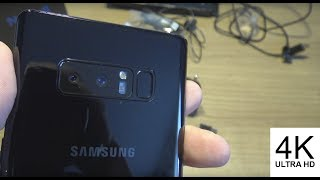 4K Samsung Galaxy Note 8 Unboxing Exynos DUOS