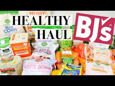 BJ's Grocery Haul Healthy | The BEST Things To Buy At BJ's Wholesale Club | August 2020