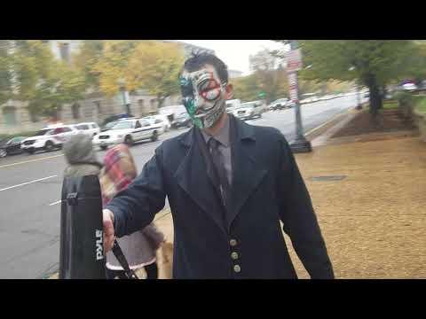 Million Mask March MMM+Targeted Individuals 2017 Washington DC November 5th 1/2 trumpsweapon.com