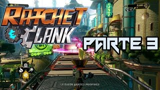Ratchet y Clank PS4 Español latino-Gameplay parte 3 Planeta Kerwan (difícil)