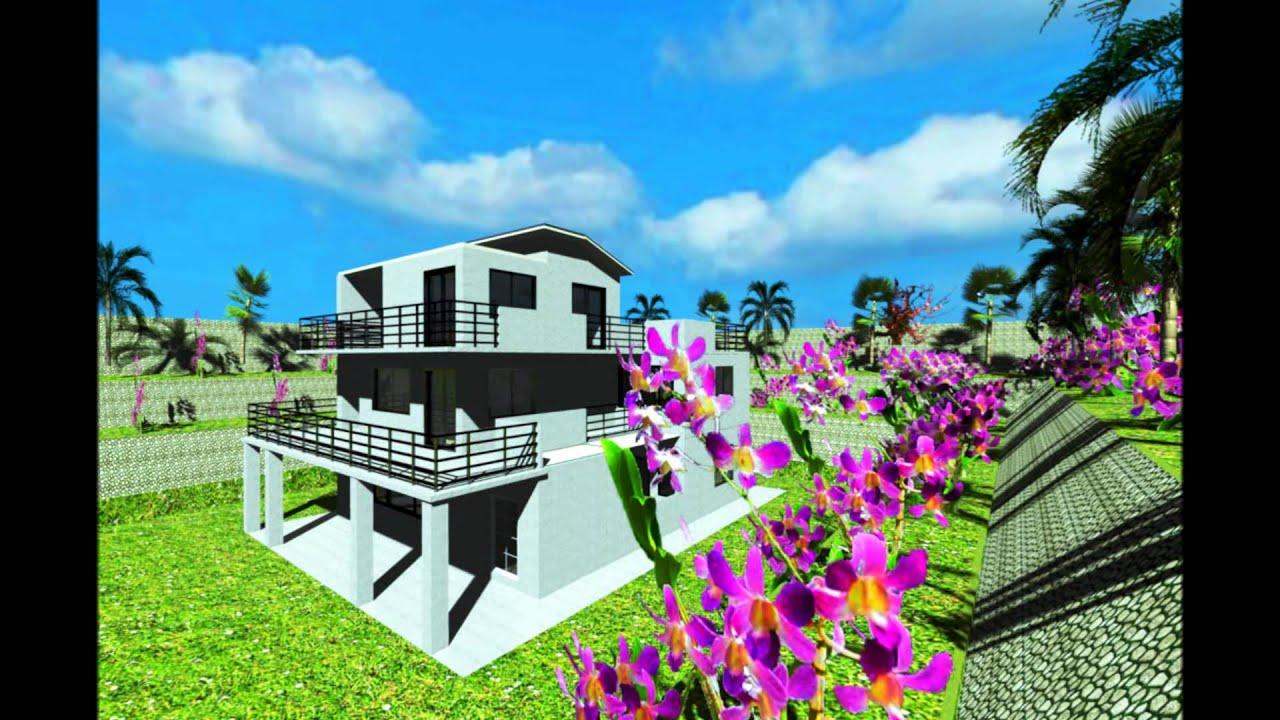 Sweet Home 3D interior design-04 - YouTube