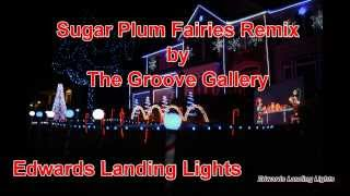 2013 Christmas Light Show - Sugar Plum Fairies Remix by The Groove Gallery