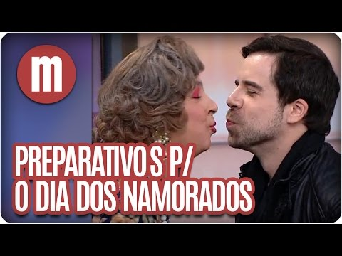 Rick Carvalho se prepara para o Dia dos Namorados - Mulheres  (10/06/16)
