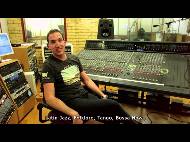 "Fernando Knopf - The making of ""La Musica es Sentimientos"" Recording Sessions פרננדו קנוף - קליפ חדש"