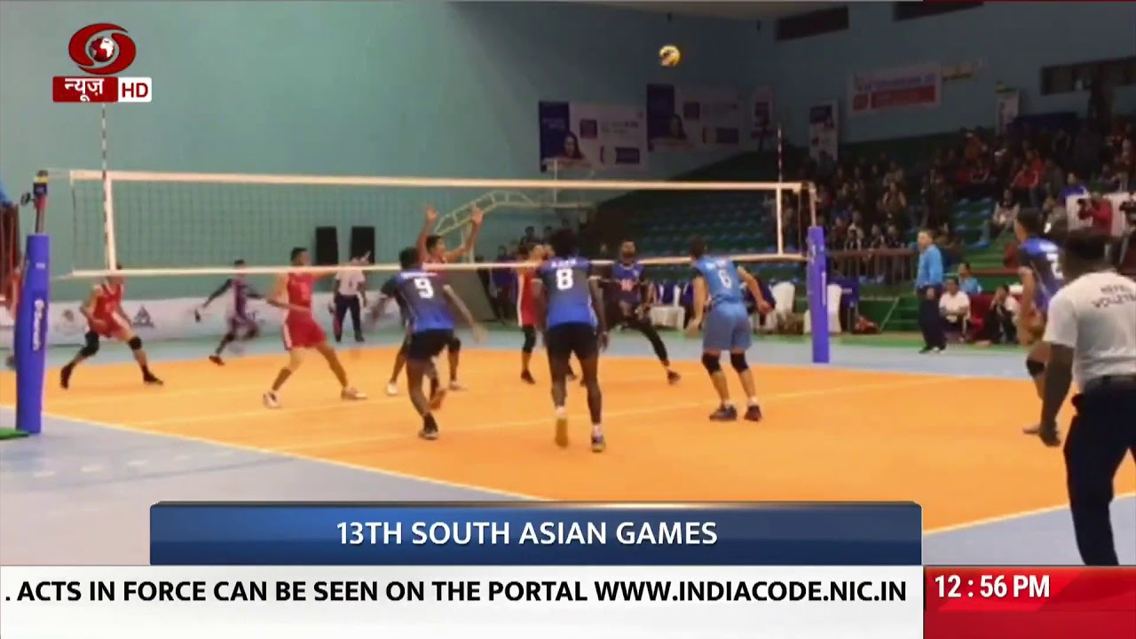 Indian Men S Volleyball Team Enters Semi Finals Youtube