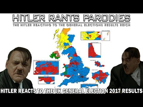 Hitler reacts to the UK General Election 2017 results