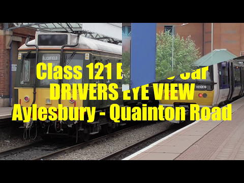 Class 121 Bubble Car DRIVERS EYE VIEW: Aylesbury - Quainton Road
