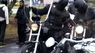 Warriors of Zion Christian Motorcycle Club shots of motorcycles