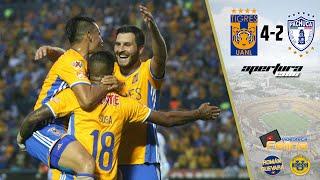 Tigres vs Pachuca 4-2 Jornada 6 Apertura 2016 Liga Mx HD