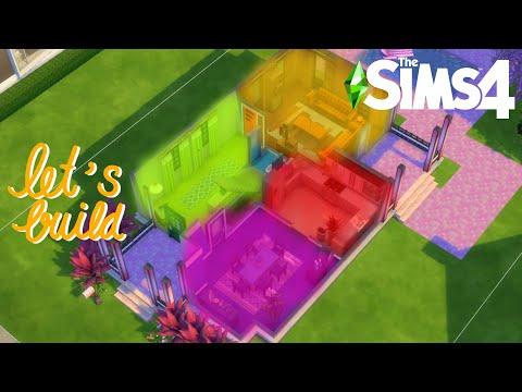 [Let's Build] สร้างบ้านแบบ'สุ่มสี 🟡🟢🔴'ในเกมเดอะซิมส์ 4