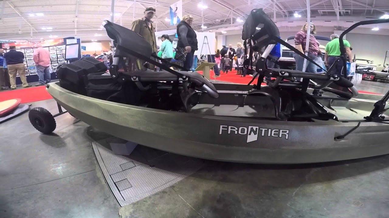 2016 NuCanoe Frontier 12 Kayak Overview - YouTube