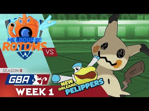 [GBA S8 W1] What Am I Doing?! - Melbourne Rotoms vs New Orleans Pelippers