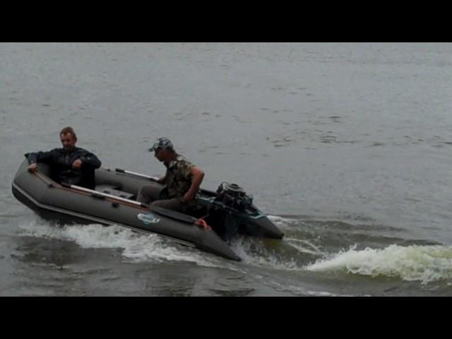 Ходовые испытания лодок пвх