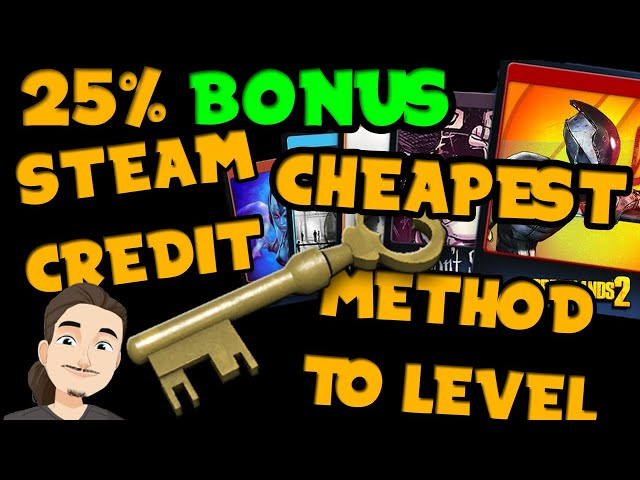 Best Way to Level Up Cheap || 25% Free Steam Credit || Summer Sale Mysterious Cards 2021