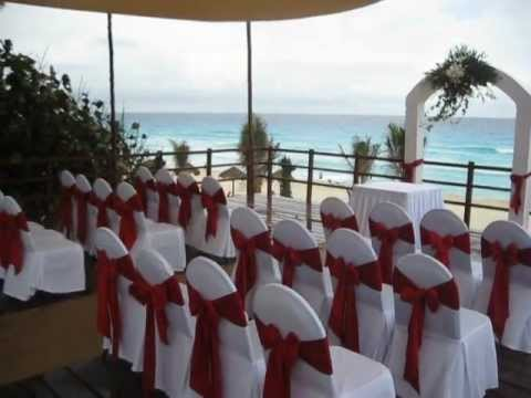 Book a wedding in cancun grand oasis cancun mexico youtube for Mexico wedding packages
