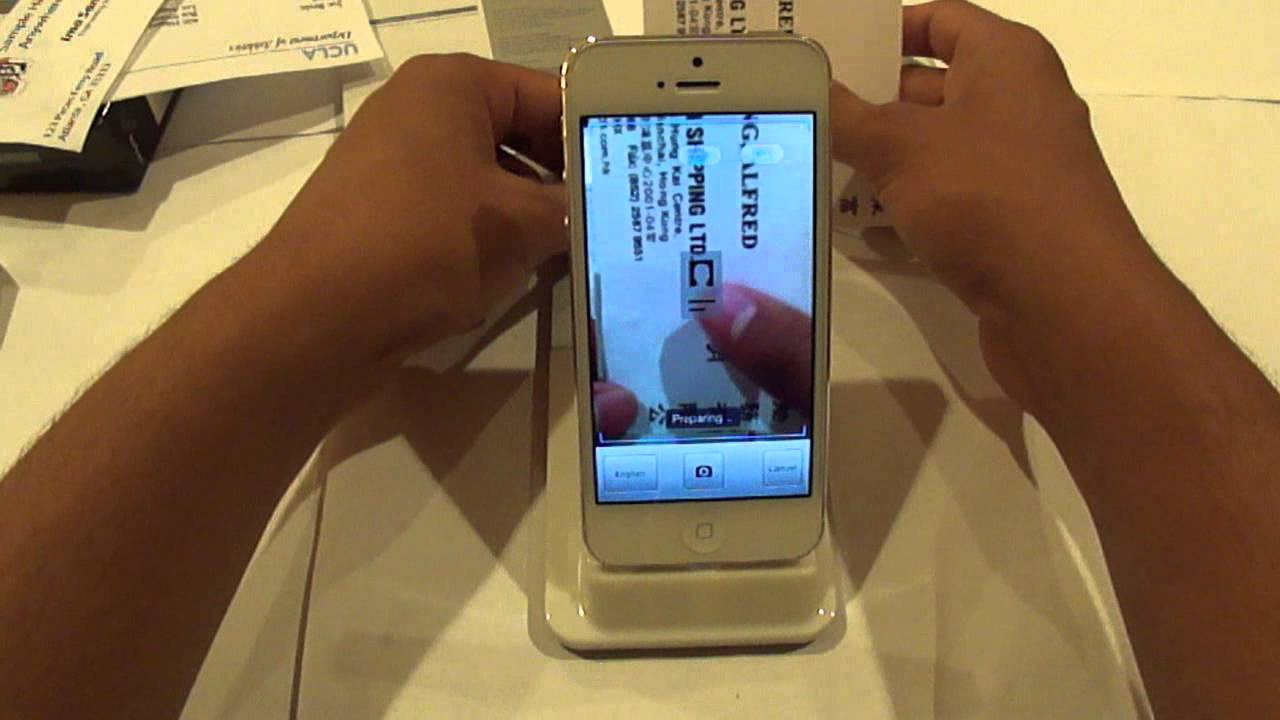 Business card scanner review youtube business card scanner review reheart Image collections