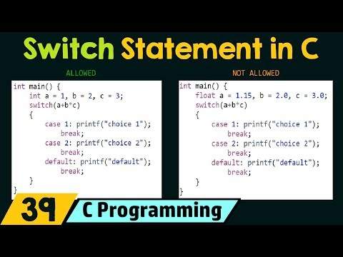 Conditionals (Switch)