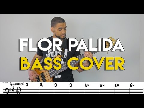 Marc Anthony Flor Palida Bass Cover With Tabs Youtube