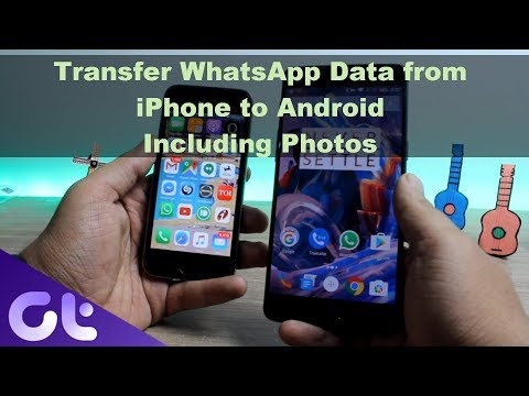 How To Transfer WhatsApp Chat Data And Photos From IPhone To Android | Guiding Tech