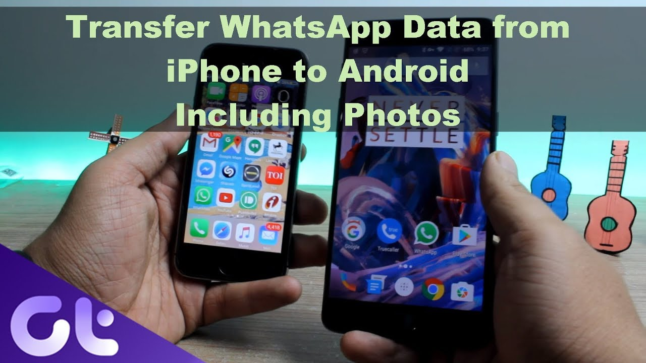 How to Transfer WhatsApp Data from iPhone to Android, Free