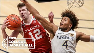 Watch the highlights as austin reaves and no. 12 oklahoma sooners defeat derek culver 14 west virginia mountaineers.#collegebasketball☑️ dona...